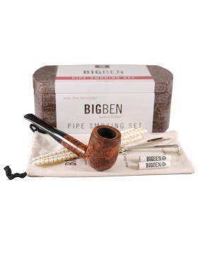 BigBen Smoking Set brown straight 408