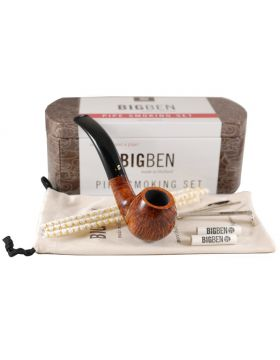 BigBen Smoking Set brown bent 043