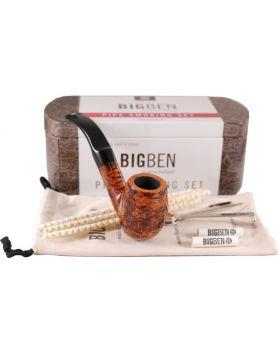 BigBen Smoking Set brown bent 018