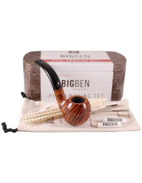 BigBen Smoking Set brown bent 543