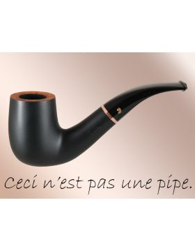 BigBen La Pipe 249 black matte - nature top (filter)