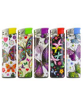 Wegwerpaansteker Lux   Butterfly (50)