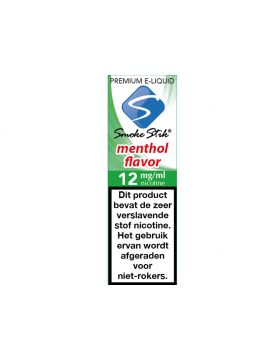 SmokeStik Premium E-Liquid    Menthol 12mg (10)
