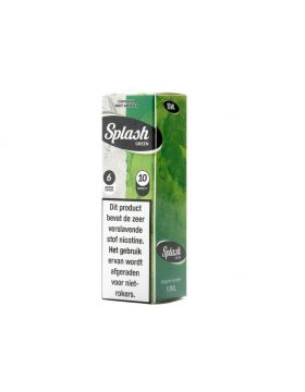 JSG E-Liquid Splash 10ml Green (Mint) 3mg