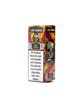 JSG E-Liquid Cartel 10ml Los Tankos 0mg