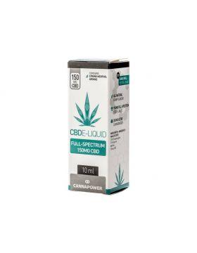 Canapower CBD E-Liquid 10ml strong menthol