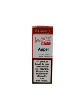 FreeSenses E-liquid appel 16mg