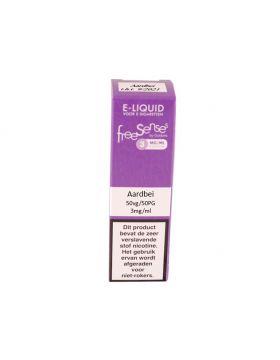 FreeSenses E-liquid aardbei 3mg