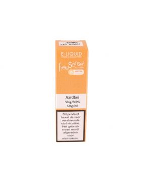 FreeSenses E-liquid aardbei 6mg
