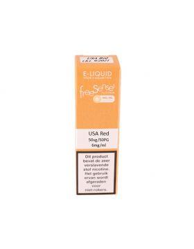 FreeSenses E-liquid USA red 6mg
