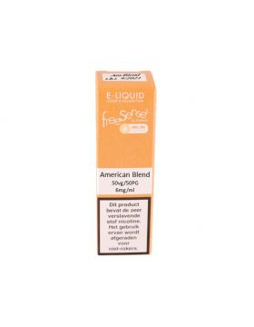 FreeSenses E-liquid American Blend 6mg