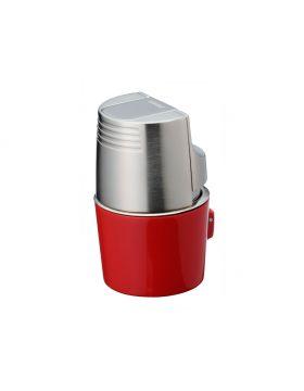 Sarome Tafelaansteker chroom/ rood jetflame