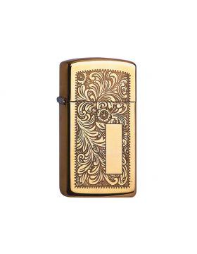 Zippo #1652B Venetian Brass Slim