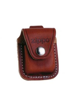Zippo Lighter Pouch Brown w/ Loop