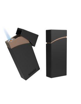 Adorini lighter Boxy zwart/   koper