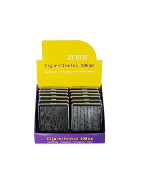 Sigaretten etui Zorr 100mm    zwart (12)