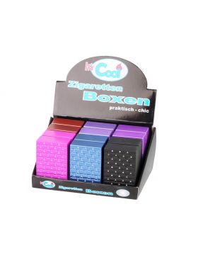 Sigaretten box Cool glitter   metallic 20KS  (12)