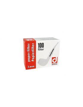 Denicotea papierfilter 3mm    100 stuks verpakking (12)