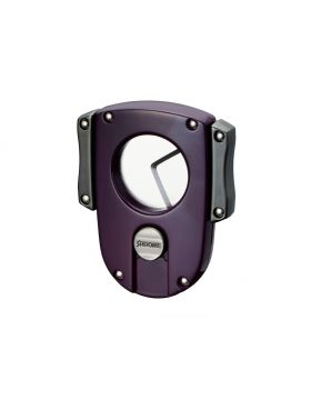 Sarome Sigarenknipper dubbel  rond purple