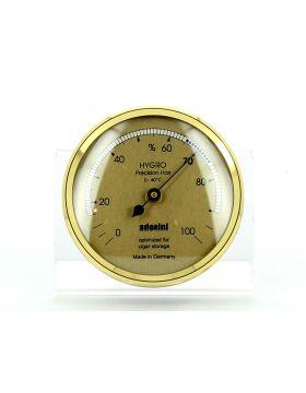 Adorini hair hygrometer large goud