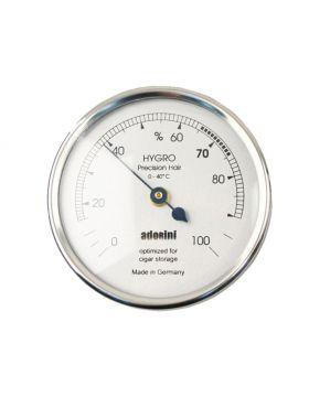 Adorini hair hygrometer large silver