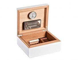 Adorini Carrara medium Deluxe (matt white) - for 75 cigars