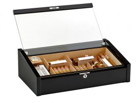 Adorini Vega Deluxe (black) - for 100 cigars